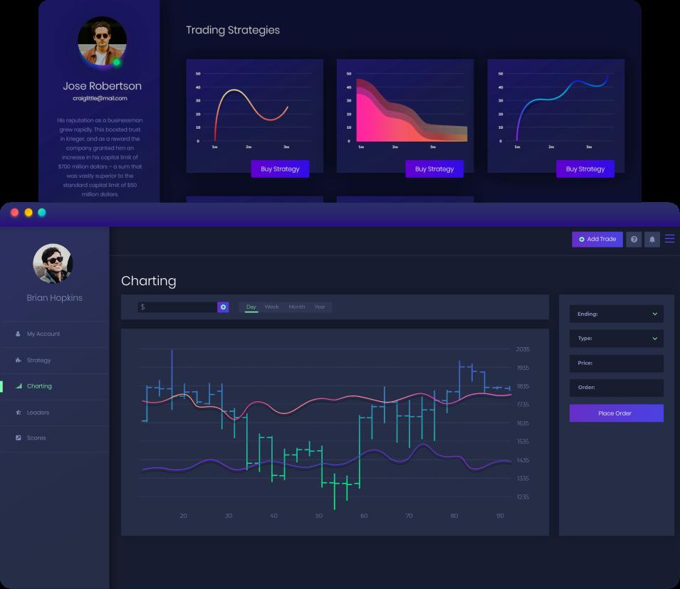TickerTocker trading app